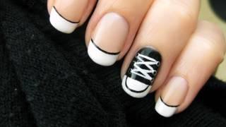 Download Converse Shoe Nail Art Video