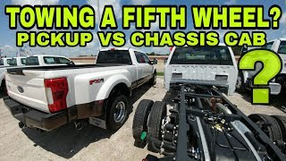 Download FIFTH WHEEL TOWING! Pickup vs Chassis Cab Trucks Video