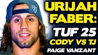Download Urijah Faber talks Awkwardness of TUF 25 Drama, Predicts Cody Garbrandt vs. TJ Dillashaw Video
