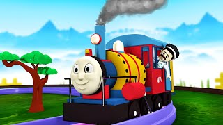 Download CHUGGI VS THOMS - Toy Factory Choo Choo Cartoon Train - Cartoon Cartoon Video