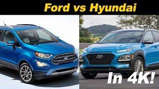 Download Hyundai Kona vs Ford EcoSport - A Pint Sized Battle Video