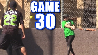Download CIARA TRIES TO MURDER BATMAN! | Offseason Softball League | Game 30 Video