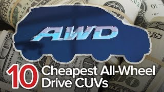 Download 10 Cheapest All-Wheel Drive Crossovers: The Short List | Most Affordable AWD CUVs Video
