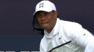 Download Tiger Woods full second round at the 2019 Open Championship Video