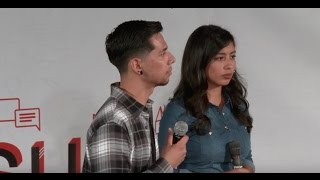 Download I thought I was just a regular American | Alvaro Castillo & Carla Martinez | TEDxCSUN Video