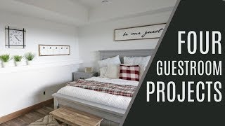 Download DIY: 4 Guest Room Projects Video