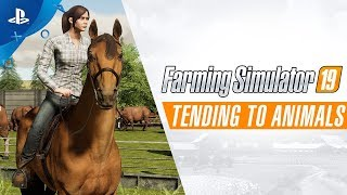 Download Farming Simulator 19 - Tending to Animals   PS4 Video