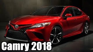Download Обзор новой Toyota Camry 2018 (презентация 2017) Video