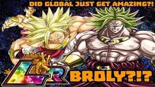 Download DID GLOBAL JUST GET AMAZING?! LR BROLY?! Global Exclusive Summoning Event: DBZ Dokkan Battle Video