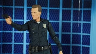 Download Neca; Terminator 2: 7″ Ultimate Action Figure - T-1000 Video