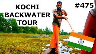 Download KOCHI BACKWATER TOUR | KOCHI DAY 475 | INDIA | TRAVEL VLOG IV Video