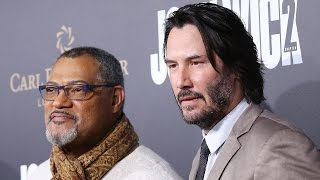 Download EXCLUSIVE: Keanu Reeves and Laurence Fishburne on How 'The Matrix' Reunion Happened in 'John Wick… Video