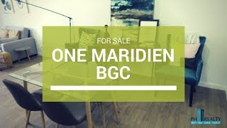 Download High Street South One Maridien, Alveo Condo in BGC Taguig For Sale ₱ 17M Video