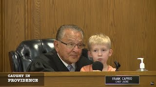 Download Caught in Providence: Cute Kid Wins Over the Courtroom Video