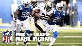 Download Mark Ingram Highlights (Week 7) | Saints vs. Colts | NFL Video