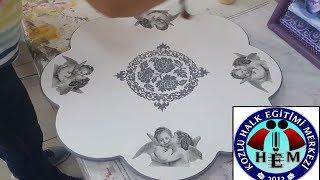 Download Ahşap Boyama - Peçete Tekniği - Napkin Technique Video
