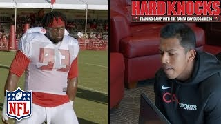 Download Aguayo Gets Cut & McCoy Tests the Boundaries of the New Celebration Rules | Hard Knocks | NFL Video