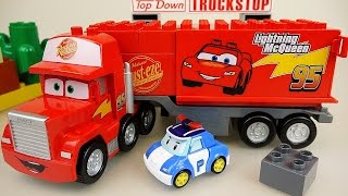Download Lego Cars Truck Block car and Robocar Poli car toys Video
