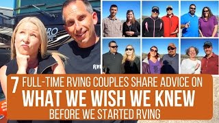 Download What We Wish We Knew Before We Started RVing | Advice from 7 Full-Time RVing Couples | Quartzsite Video