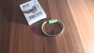Download Creative Universal Wristband Cable Micro USB Charging Data Bracelet Cable Video