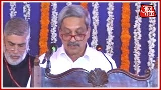 Download Manohar Parrikar Sworn In As Goa's CM In Presence Of Governor Part 1 Video