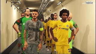 Download PES 2018 | Chelsea FC vs Inter | Full Match & Amazing Goals | Gameplay PC Video