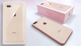 Download Gold iPhone 8 Plus Unboxing & First Impressions! Video