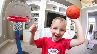 Download FATHER SON HOUSE BASKETBALL! Video
