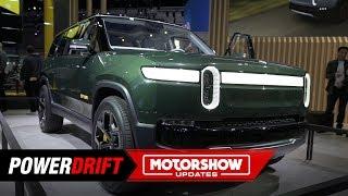 Download Rivian R1T & R1S : Electric adventure vehicles : 2018 LA Auto Show : PowerDrift Video