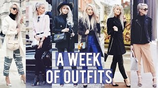 Download What I Wore in a Week Lookbook - LFW | Inthefrow Video
