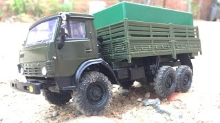 Download Handmade - How to build RC Kamaz 4310 Model 1/43 Scale Video