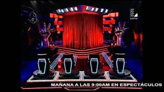 Download Raisa y Lucía Rodríguez canta ″De mí enamórate″ | Audiciones a ciegas | La Voz Perú 2015 Video