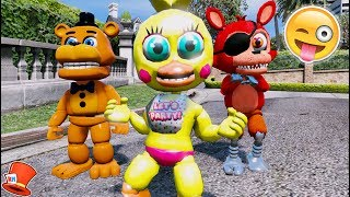 Download BRAND NEW CHICA ANIMATRONIC IS HERE! ADVENTURE TOY CHICA! (GTA 5 Mods For Kids FNAF RedHatter) Video