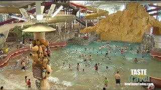 Download The Largest Indoor Water Park: Kalahari Resort - Wisconsin Dells!! Video