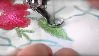 Download Singer Sewing Machine Darning Embroidery Foot Video