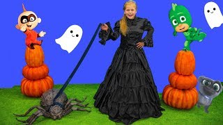 Download Assistant Spooky Pet Spider Hunt with Incredibles Baby Jack Jack and PJ Masks Video
