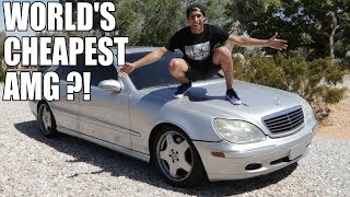 Download I BOUGHT AN S55 AMG FOR $1000 !!! Video
