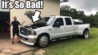Download Found a HUGE PROBLEM With My 7.3 Powerstroke on 24's! (Explains why it's so slow) Video