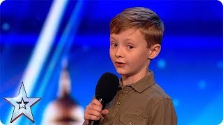 Download Ned Woodman ROASTS the Judges | BGT Unforgettable Auditions Video