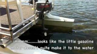 Download Gasoline / Electric Catamaran Hobie Cat Pontoon Conversion Video