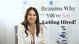 Download Reasons You're Not Getting Hired! | The Intern Queen Video