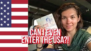Download Crossing the USA Border with Syrian, Yemeni, Iraqi Passport Stamps Video