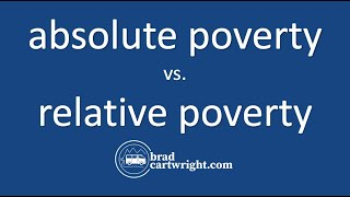 Download Equity in the Distribution of Income Unit: Absolute Poverty vs. Relative Poverty Video