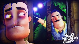 OK    WHY IS HE IN THE FINAL BASEMENT!?    Hello Neighbor