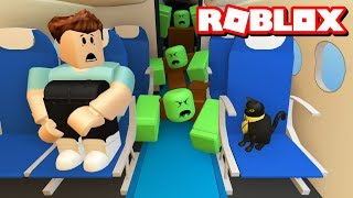 Download ZOMBIES ON A PLANE!! | Roblox Adventures Video