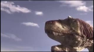 Download Gigantoraptor vs Alectrosaurus! (Planet Dinosaur) Video