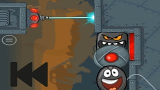 Download RED BALL 4 BLACK BALL REWIND KILL SQUARE AND ROBOT (LEVEL 43) Video