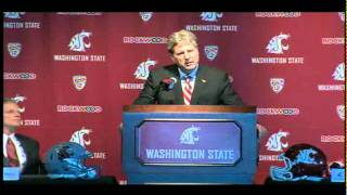 Download Mike Leach Introductory Press Conference! 12/6 Video