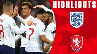 Download England 5-0 Czech Republic | England Off To Dream Start! | Euro 2020 Qualifiers | England Video