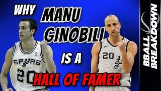 Download Why MANU GINOBILI Is A First Ballot Hall Of Famer Video